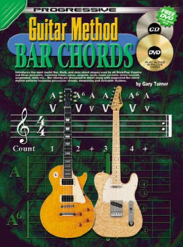 Guitar Method Bar Chords (Progressive Guitar Method) (Method Guitar Progressive)
