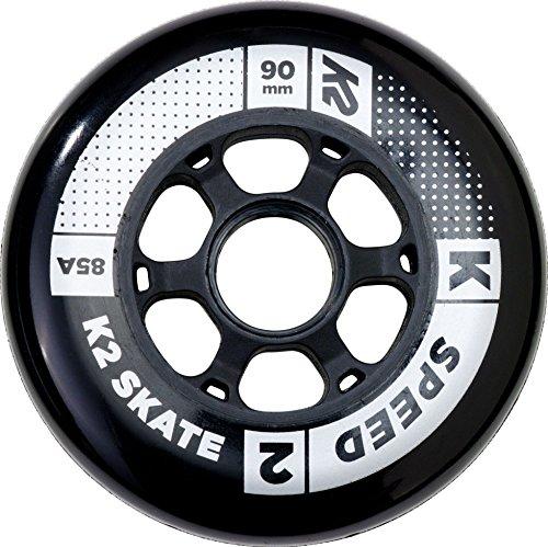 K2 Rollenset 90 mm Speed Wheel 4-Pack, mehrfarbig, One Size, 30B3005.1.1.1SIZ