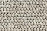 HAY - Peas Teppich - dunkelgrau - 140 x 80 cm