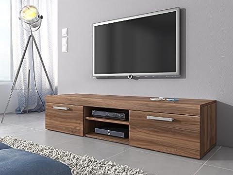 TV Möbel Lowboard Schrank Ständer Mambo Walnuss Braun Eiche 160 (37 Legno Porta Tv)