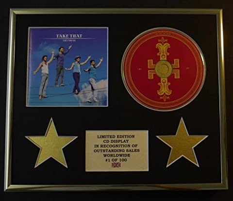 TAKE THAT/CD DISPLAY/ LIMITED EDITION/COA/THE CIRCUS