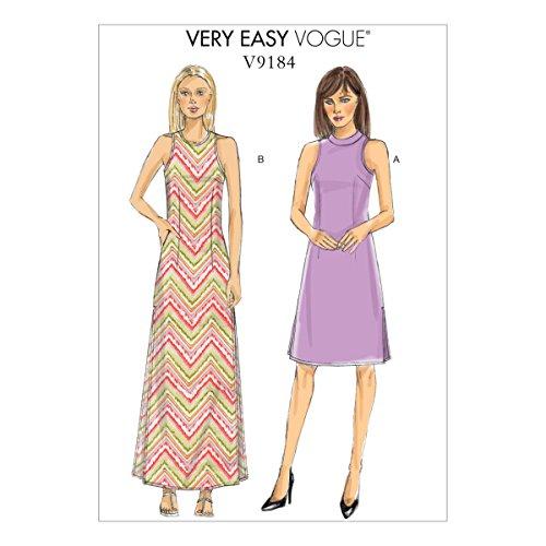Vogue Patterns 9184 E5 Patron de Robe de Petite Taille 14–22