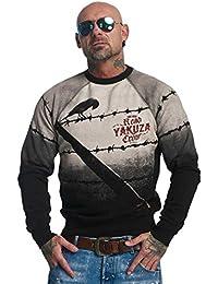 Yakuza Hombres Ropa superior / Jersey Read Crow