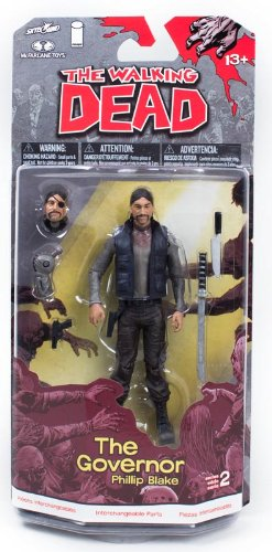 "The Walking Dead Comic Book Series 2 5"" Figure The Governor Phillip Blake 1"