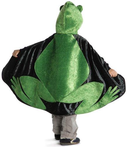Trullala Wendecape, Wendeumhang für Frosch- und Prinzkostüm Größe: S/M (3-6 Jahre)