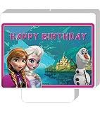 Disney Die Eiskönigin Frozen und Olaf Kuchenkerze Geburtstagskerze