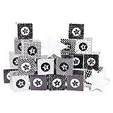 Papierdrachen ADV Kisten Bedruckt - Schwarzweiss - Nr 103