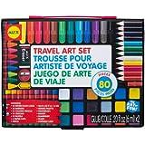 Alex Toys Artist Studio Travel Art Set with Carrying Case, Multi Color