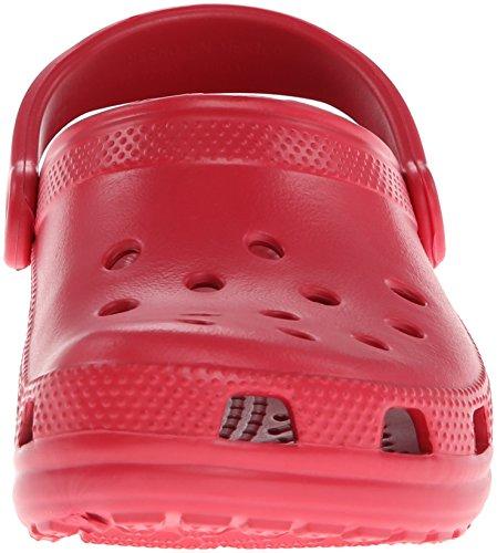 Crocs Classic, Zoccoli Unisex – Adulto Rosso (Pepper)