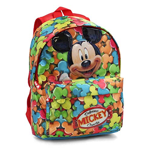 Mickey Mouse Delicious Zainetto per bambini, 32 cm, Rosso (Rojo)