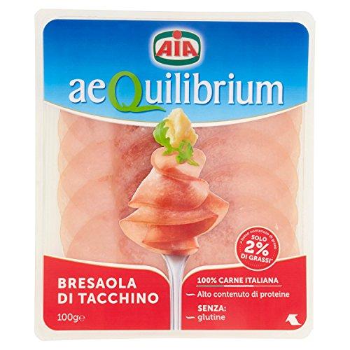 Bresaola di tacchino aequilibrium aia 100 gr
