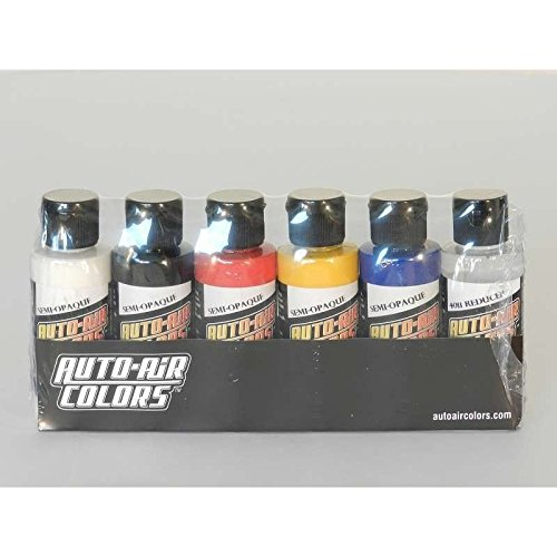 Creartec Auto Air Semi-opake Set 6x60ml 11 4299 AirbrushfarbeH -