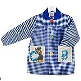 KLOTTZ 4861-PAW-AZUL-4 - BABY PATRULLA CANINA MANDILON GUARDERIA niñas color: AZUL talla: 4