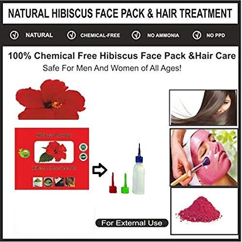Polvo de hibisco 100% natural puro en polvo Js (100 g)