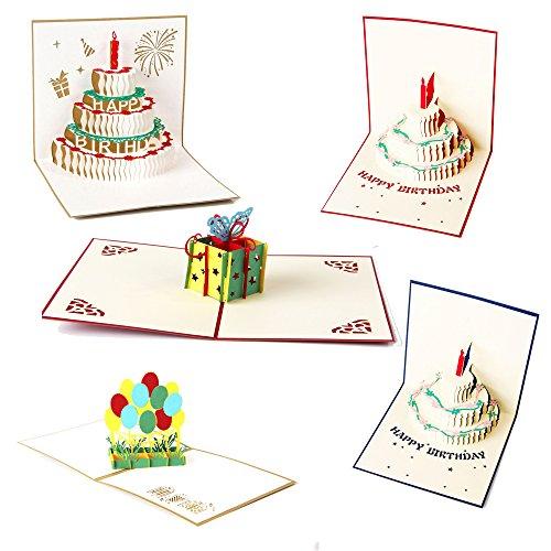 Artone Creativo 3D Apparire Buon Compleanno Regalo