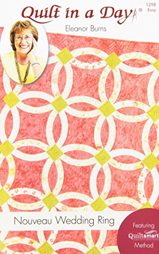 Quilt In A Day Eleanor Burns Muster, Nouveau Hochzeit Ring Quilt (Ring-quilt-muster Wedding)
