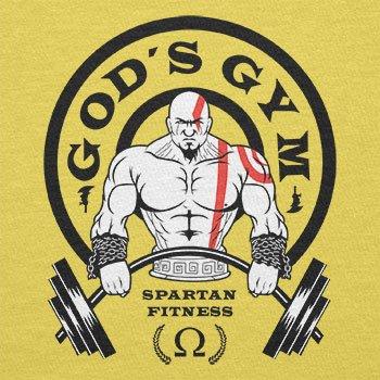 TEXLAB–God S Gym Spartan Gym–Sacchetto in tessuto Gelb