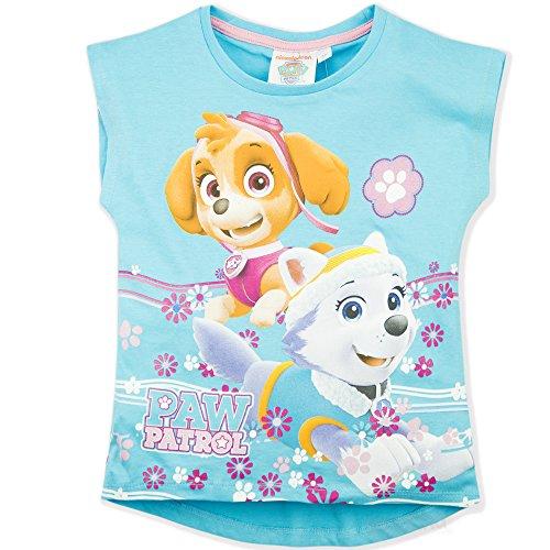Paw Patrol Mädchen T-Shirt, Figur Gr. 2-3 Jahre (3 Jahre Etikett), - Jahr-etiketten