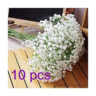Akooya Silk Artificial Baby Breath Gypsophila Flower Wedding Home Decor Gift