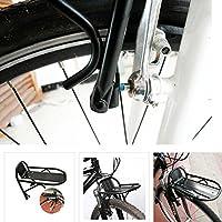 Generic qy-uk4–16feb-20–3595* 1* * 5610* * Sedile da bicicletta in lega Ront/Re anteriore/posteriore bici FR Freno in Lega per bicicletta bagagli bagagli portapacchi bicicletta bicicletta bagagli - Lega Posteriore Rack