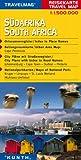 Reisekarte : Südafrika -
