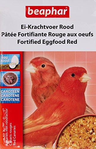 Beaphar Pâtée fortifiante rouge aux œufs, complément alimentaire - oiseau - 150 g