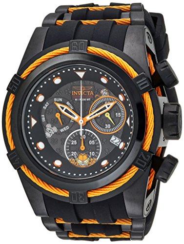 Invicta Men's Analog Quartz Watch with Silicone Strap 25001