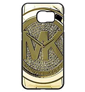 (MK) Michael Kors Galaxy S6 Edge Plus Coque Etui Case, Famous Brand Marks Hard Protecteur Protector Coque Etui Case Slim Fit Samsung Galaxy S6 Edge Plus, (Not Fit for Galaxy S6 / S6 Edge) (Not Fit Galaxy S6 / S6 Edge)