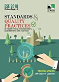 ESE 2018 Prelims Paper 1 - Standards and Quality Practices