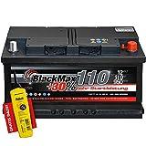 PKW Starter Auto Batterie 12 V 110Ah 950A/EN ers. 90 95 100 115 120 Ah