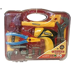 Fun Toys 10468 - Worker Tool Set, All In One