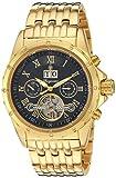 Burgmeister Armbanduhr für Herren mit Analog Anzeige, Automatik-Uhr mit Edelstahl Armband - Wasserdichte Herrenuhr mit zeitlosem, schickem Design - klassische Uhr für Männer - BM127-229 Royal Diamond