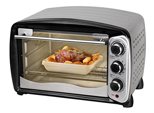 TKG Convection and Rotisserie Mini Oven, 26 Litre, 1500 W, Silver