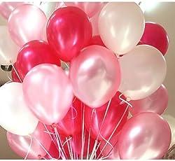 Party Freak Metallic HD Balloons (Pack of 50)