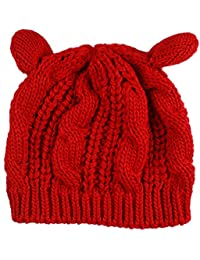 Amazon.it  maglia gatto - Rosso   Cappelli e cappellini   Accessori ... ea0550677994