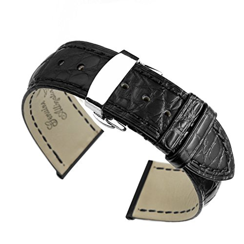 21mm-black-high-end-alligator-leather-watch-straps-bands-replacement-for-luxury-watches
