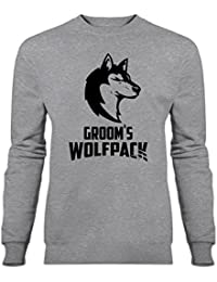 Sudadera Groom's Wolfpack by Shirtcity
