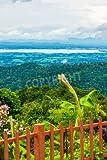 Alu-Dibond-Bild 80 x 120 cm: 'View Point of Phayao Lake, Thailand.', Bild auf Alu-Dibond
