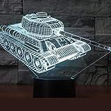 Farbbehälter 3D Nachtlicht Weihnachtsgeschenk Nachtlicht Luminaria Led 3D Tischlampe Beleuchtung Kindertischlampe