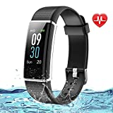 Lintelek Fitness Tracker, Colour Screen Smart Watches Fitness watch with Step Counter,Waterproof Activity