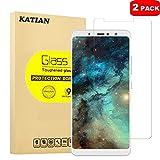 KATIAN [2 Pack] BQ Aquaris X2 Screen Protector, 9H