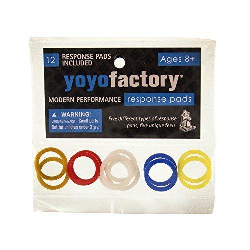 YoyoFactory Yo-Yo Response Pad Set by Yo Yo Factory (Response Yoyofactory Pads)