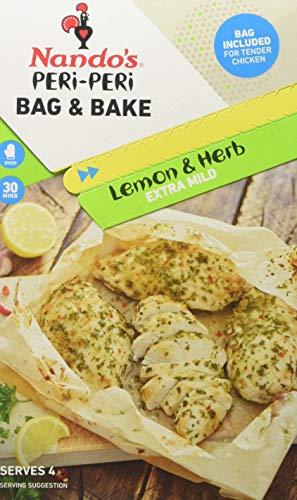 Nando's Lemon and Herb Peri-Peri Bag and Bake, 21 g