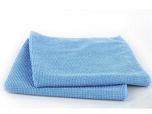 ADream Telefon Zubehör Fall Mikrofaser-Reinigungstücher für PC-Bildschirme Gehäuse Tastaturen (blau)