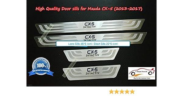 Door Sills Panel Scuff Plate Kick Step Protect 2013-2017