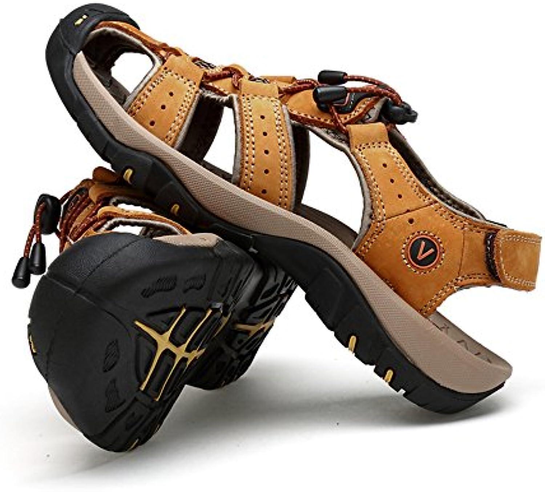 Jiuyue-scarpe, Pantofole da spiaggia estiva da uomo Sport Outdoor Casual traspirante antiscivolo morbido piatto... | Vinci molto apprezzato  | Scolaro/Signora Scarpa