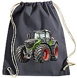 Blackshirt Company Traktor Turnbeutel Fendt Rucksack Sportbag Farbig Farbe Grau