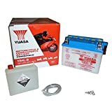 Yuasa YB4L-B(CP) Motorradbatterie (inkl. Säurepack), 121x71x93 mm, 12 V