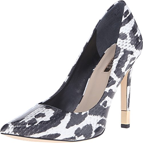 Devinez Babbitta Chaussures White Fabric