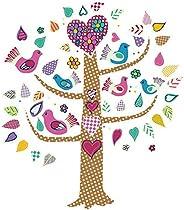 Tree of Love Luminous DIY Wall Stickers For Livingroom Children Wall paper Glow in the dark